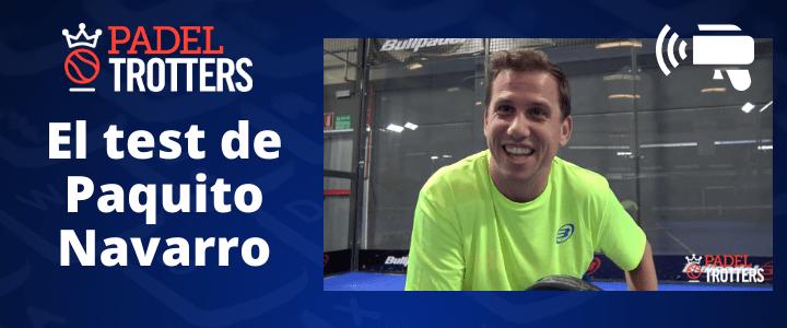 El test de Paquito Navarro